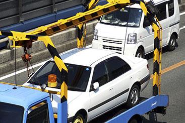提携工場及びレッカー車